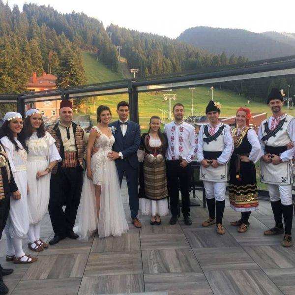 Дилмани на Ливано-Българска сватба